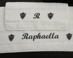 Toalhas personalizadas - bordadas a m�o