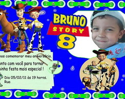 Convite Infantil - Toy Story