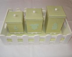 Kit Higiene Beb� - Verde