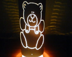 Lumin�ria infantil urso