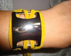pulseira gladiadora amarela