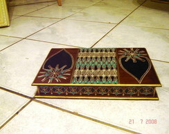 Caixa de joias em madeira /mdf