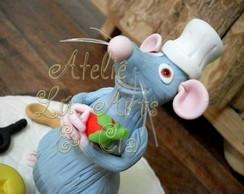 Ratatouille - topo de bolo