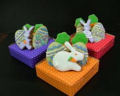 Biscoito decorado - P�scoa