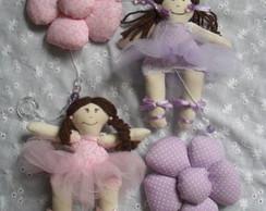 M�bile Bailarinas e Flores