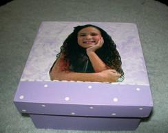 caixa de sabonete com foto