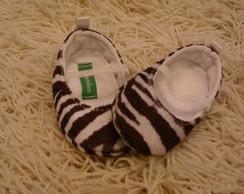 Sapatinho Infantil Zebrado