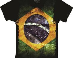 ... Camiseta Bandeira do Brasil Patriota Nacionalismo 767415b8d43c0