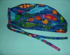 Gorro cirurgico fundo do mar LAN�AMENTO