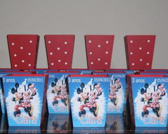 CACH�PO M MICKEY E MINNIE C/ NOME E DATA