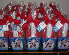 CACH�PO M MICKEY E MINNIE C/ KIT COLORIR