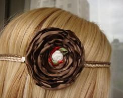 headband marrom
