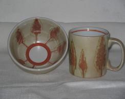 Conjunto de Bowl e Caneca - vendido