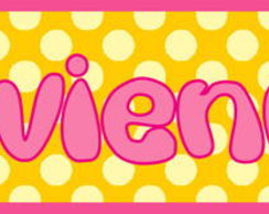 ~ Plaquinha/Little Plate Vivienne ~