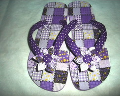HAVAIANAS TOP PO� E PATCHWORK LIL�S