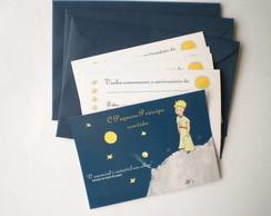 Convite Pequeno Pr�ncipe com Envelope