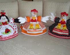 Cobre bolos, Jujuzinha e Joaninha