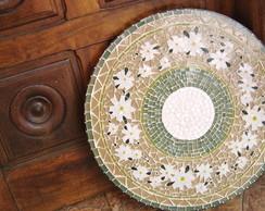 """Mosaico Prato Girat�rio """"Jardim"""""""