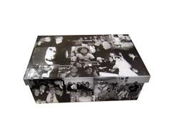 Caixa de mem�rias + fotos digitalizadas