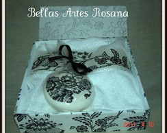 Kit Caixa Toalha e Sabonete VENDIDA
