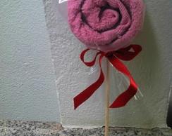 Pirulito de toalha - tradicional