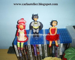 Moranguinho, Batman e Betty Boop