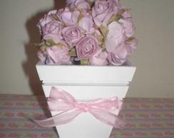 Cachep� de mini rosas