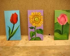 Tela Mini flores