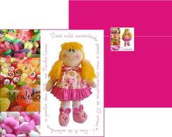 Convite 30 Anos boneca