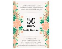Frases Para Convite De Aniversario De 50 Anos Elo7