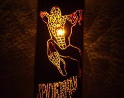 Lumin�ria em pvc Homem Aranha