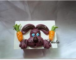 coelho na caixa em mdf
