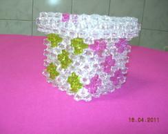 Caixa em cristal acr�lico