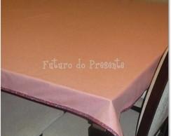 Toalha mesa DPL FACE tecido PET Verm gd