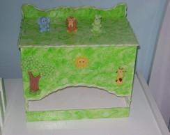 Porta Fraldas Animais da Floresta