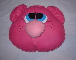 Almofada Personagens Urso Rosa (feltro)