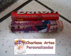 Baton Chocolate Homem Aranha