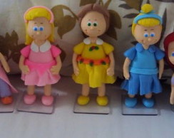 Princesas Baby - Topo de bolo!!