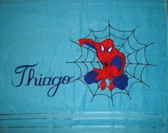toalha de banho homem aranha