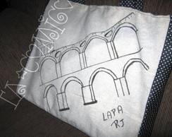 Bolsa Lapa Desenhado � M�o!