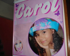 Banner em lona - tema Barbie