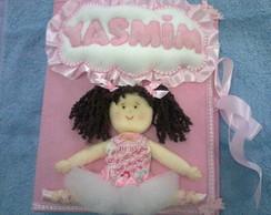 �lbum de Beb� Personalizado Bailarina