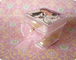 Caixa de acr�lico - Noivinhos