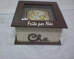 Caixa de Ch� em Arte Francesa