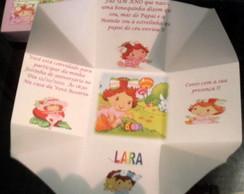Convites Caixa Surpresa Infantil