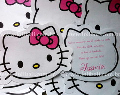Convite Infantil - Hello Kitty