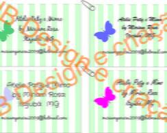 Kit tags,etiquetas e cart�es de visita