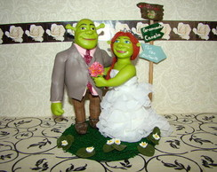 Noivinhos PERSONAGEM Shrek e Fiona