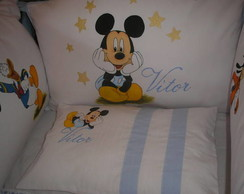 KIT DE BER�O TURMA DO MICKEY