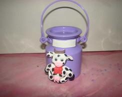 mini leiteira com vaquinha